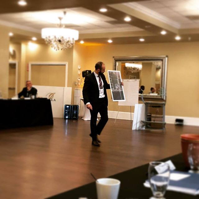 This morning at our legendary #Bni meeting one of our fellow member Kyle Teal, the Real Deal (our Land Use and Zoning attorney) had his 7 minute presentation and he used one of his custom posters printed by us!!!! 🙌🏻 Way to go Kyle, you rock!!!. . . . . . #bni #bnilegends #legends #bnibuzz #presentation #posters #posterpresentation #zoning #trial #law #attorney #miami #localbusiness #localprintshop #miamilocal #miamibusiness #girlboss #supportsmallbusiness #support #lajolla #lajollaballroom #network #networking #breakfast #networkbreakfast #thursday #fastprints #qualityprints