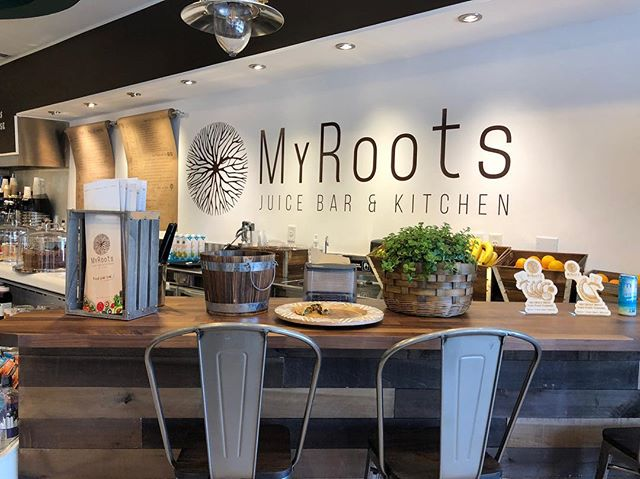 Have you been to @myrootsjuicebar? They just opened a brand new store in @cityofdoral with lots of delicious treats for the soul! . That's right my roots is an all vegan juice bar that offers a variety of blends, snacks and bites that are nutritious and delicious! . Shout out to my hubby for being in charge of all the renovations with @guernicacorp and my father who printed and installed all the graphics!!! GREAT JOB GUYS! 🍯. . . . #vegan #veganrecipes #juicebar #soulfood #decor #renovation #restaurantdecor #interiordesign #graphics #vinyl #menus #customdesign #graphicdesign #creativedesign #miamibusiness #localbusiness #familybusiness #proud #plants #greens #goodforyou