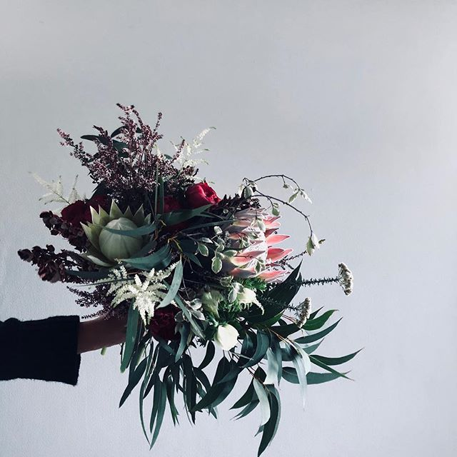 Oh George | STOP right now & THANK YOU very much 🌸 for letting us be involved in your special days #waitingforgeorge #flora #florist #flowers #sydneyflorist #australiana #sculptural