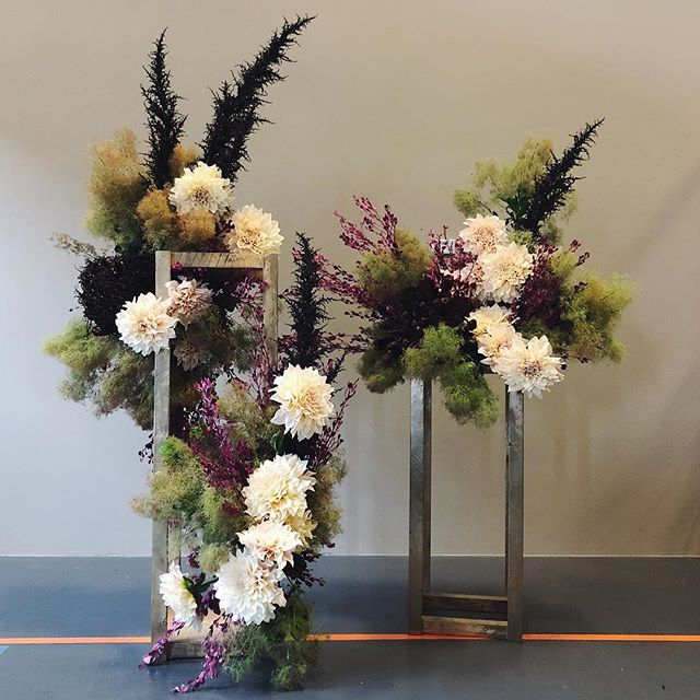 Oh George | through the smokey haze you will find the land of dreamers ✨ #dreamers #flowers #florist #flora #sydneyflorist #dahlia #smokebush #waitingforgeorge