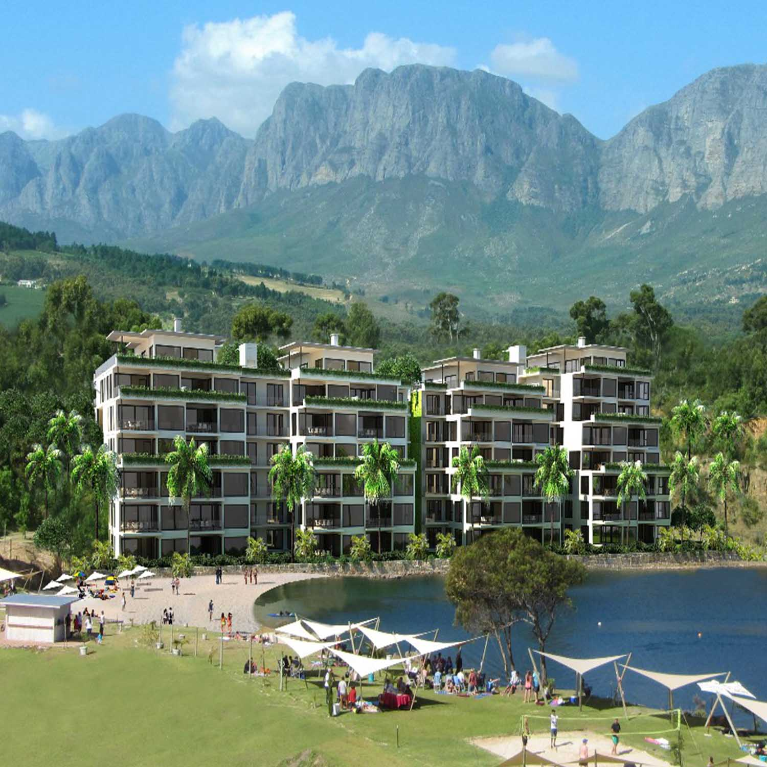 Blue Rock Village, Somerset West