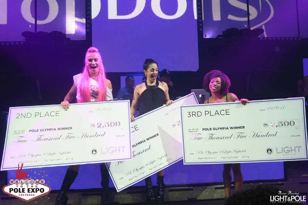 Photo here showing 2017 Winners! Pink Puma, Samantha Star, Ashley Fox.