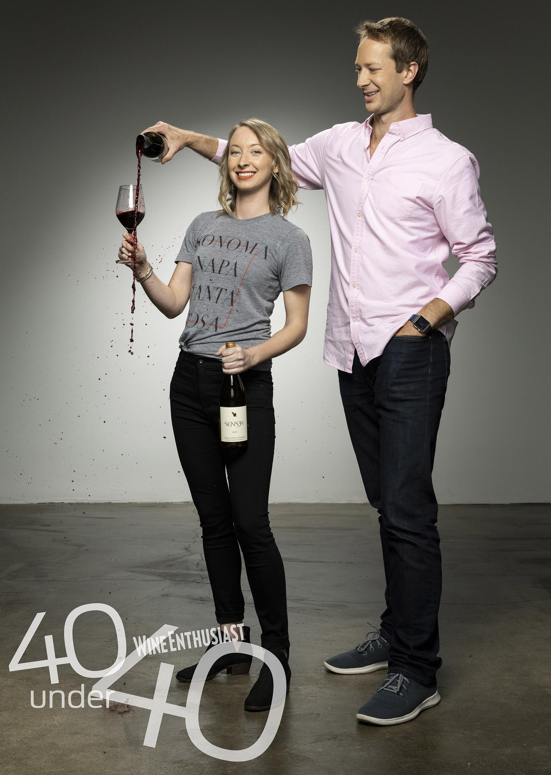 Wine Enthusiast   Top 40 Under 40, 2018   August 21, 2018   Image by Scott McDermott