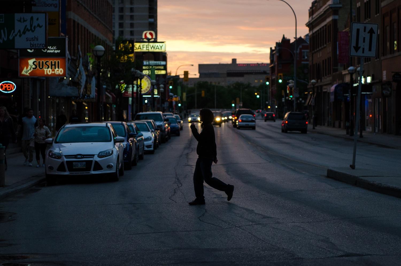 Seen in Osborne Village, Winnipeg
