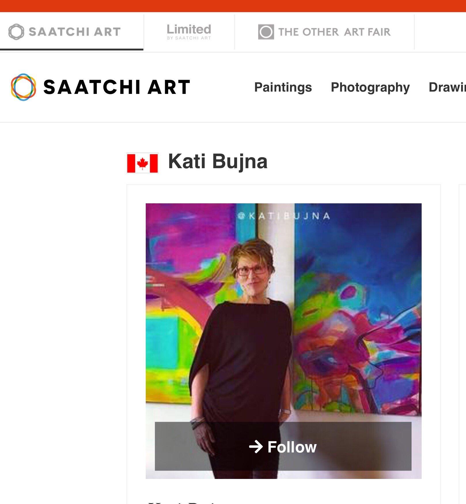 Featured on Saatchi Art.com