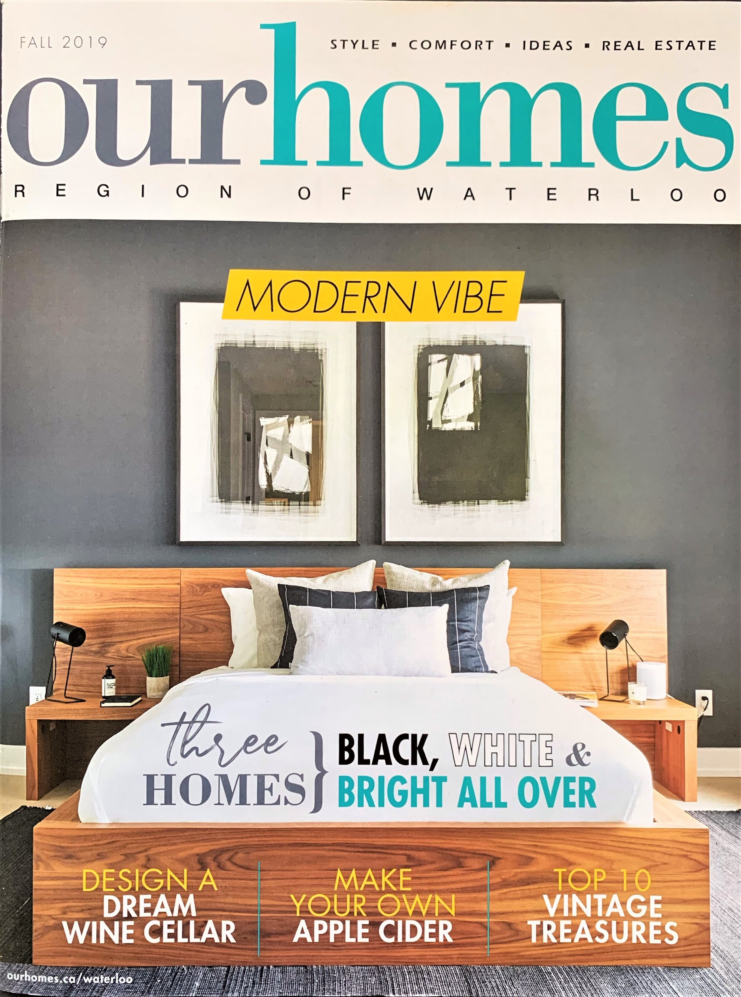 Our Homes, Fall issue, 2019