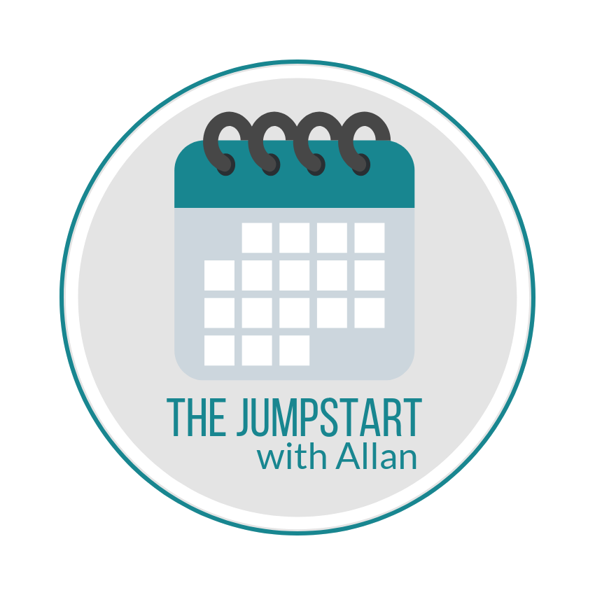 Scheduling for The Jumpstart - The Jumpstart with Allan requires the scheduling at sign-up of two one-hour sessions in order to ensure availability and to determine the timing of the Discovery steps. Please see the instructions below …