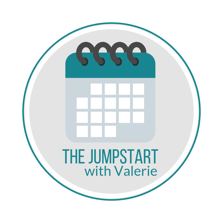 Scheduling for The Jumpstart - The Jumpstart with Valerie requires the scheduling at sign-up oftwoone-hour sessions in order to ensure availability and to determine the timing of the Discovery steps. Please see the instructions below …