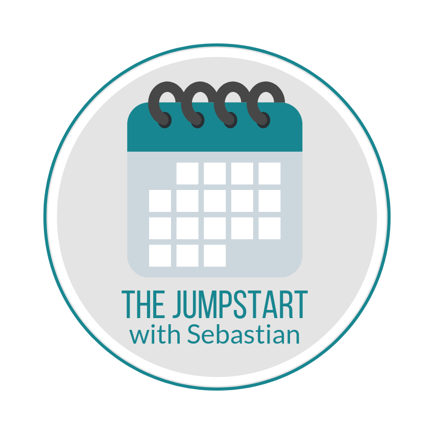 Scheduling for The Jumpstart - The Jumpstart with Sebastian requires the scheduling at sign-up of two one-hour sessions in order to ensure availability and to determine the timing of the Discovery steps. Please see the instructions below …