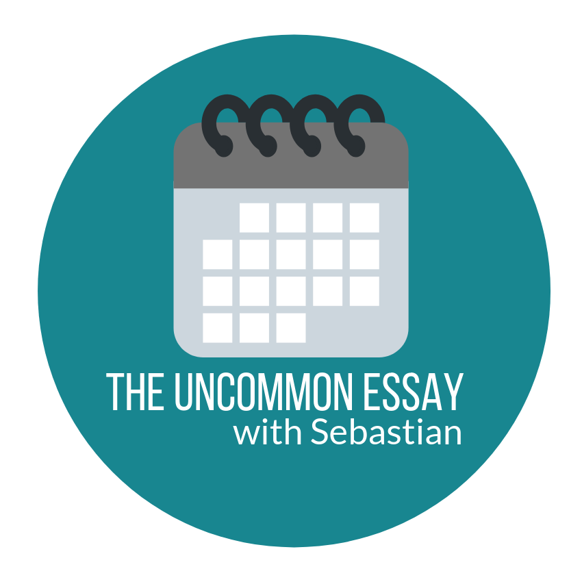 The Uncommon Essay Course - The Uncommon Essay with Sebastian requires the scheduling at sign-up of 4 one-hour sessions in order to ensure availability and to determine the timing of Discovery steps. Please see the instructions below …