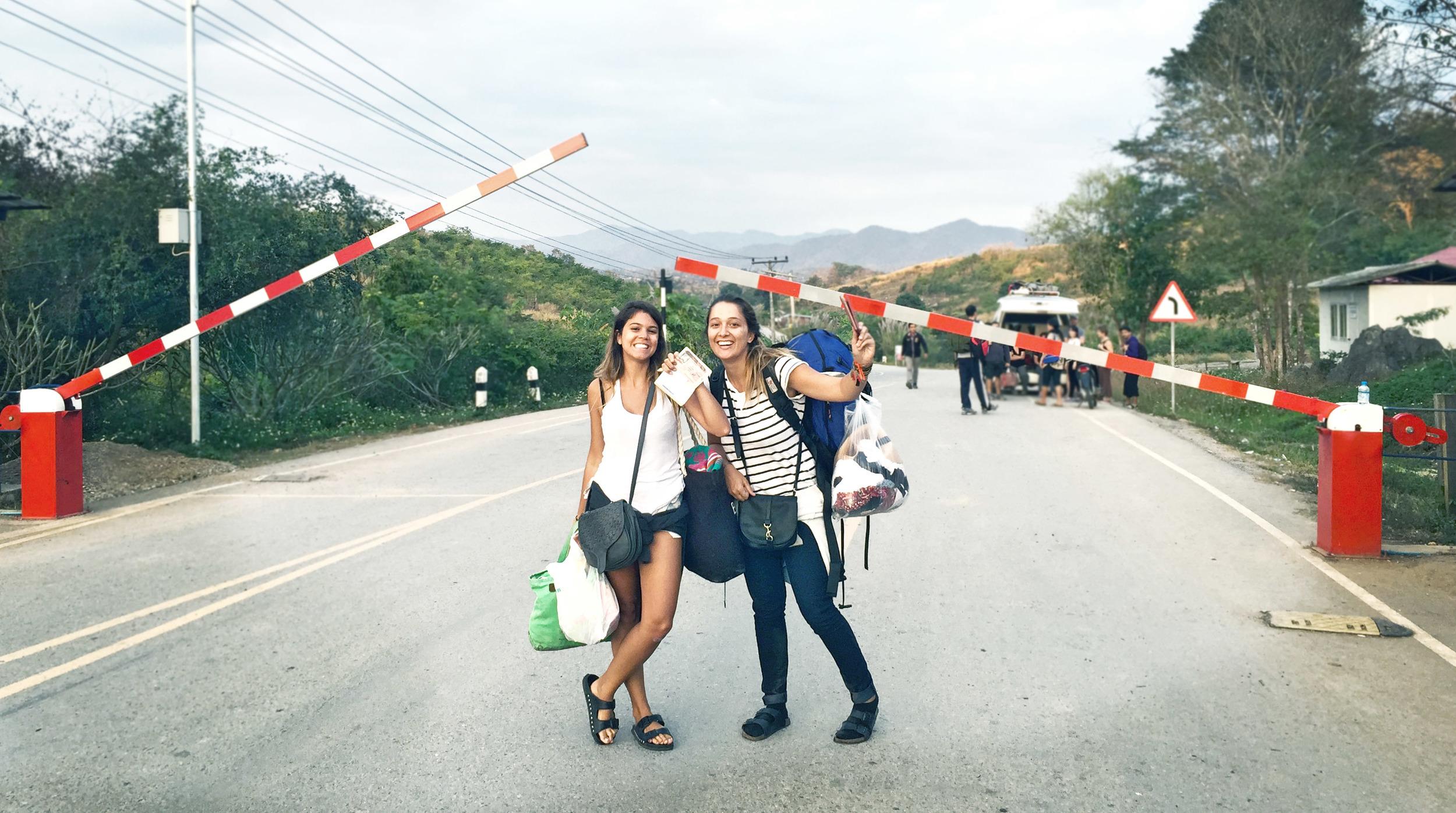 Travessia Tailândia - Laos
