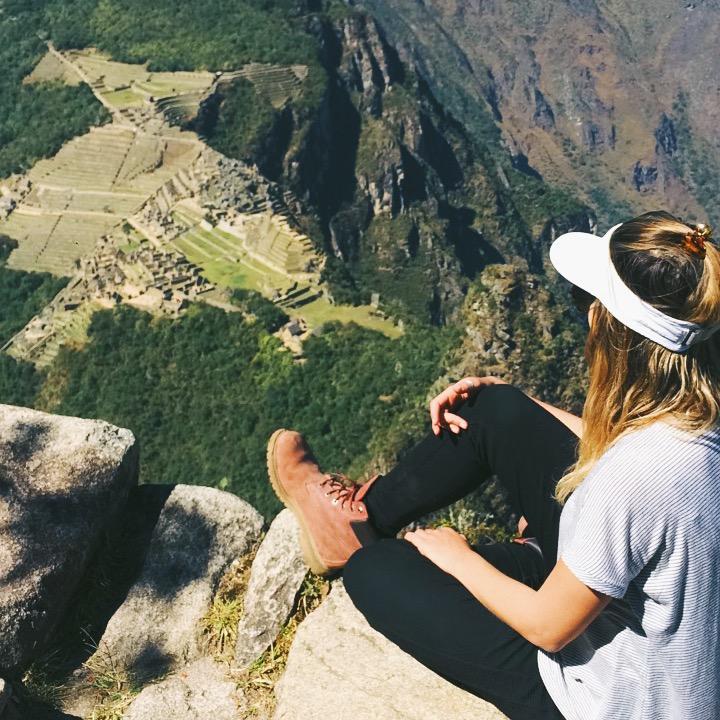 No topo do mundo!