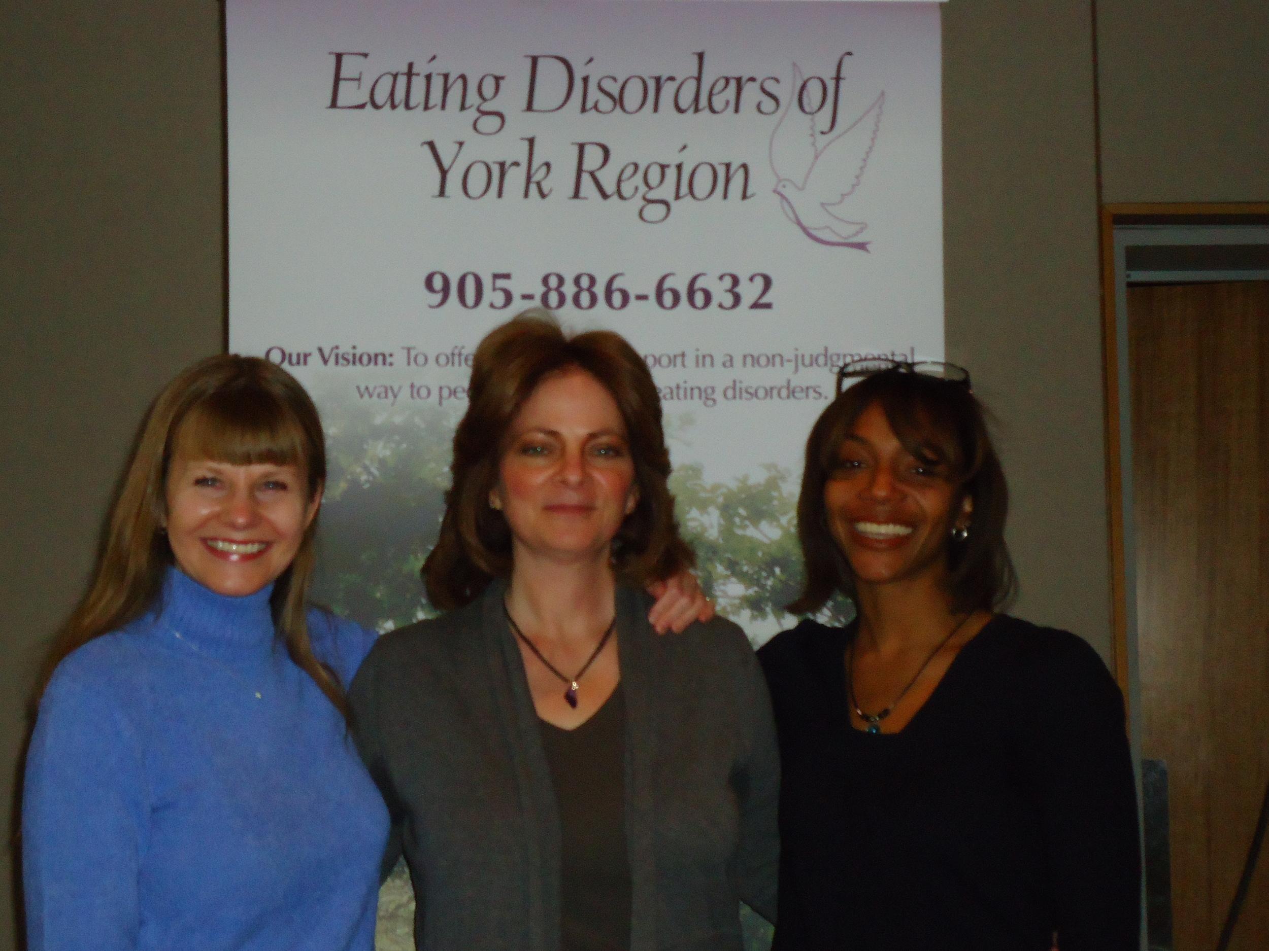Jane Alway, Janice Morgante, and  Dr. Tiffany-Rush Wilson