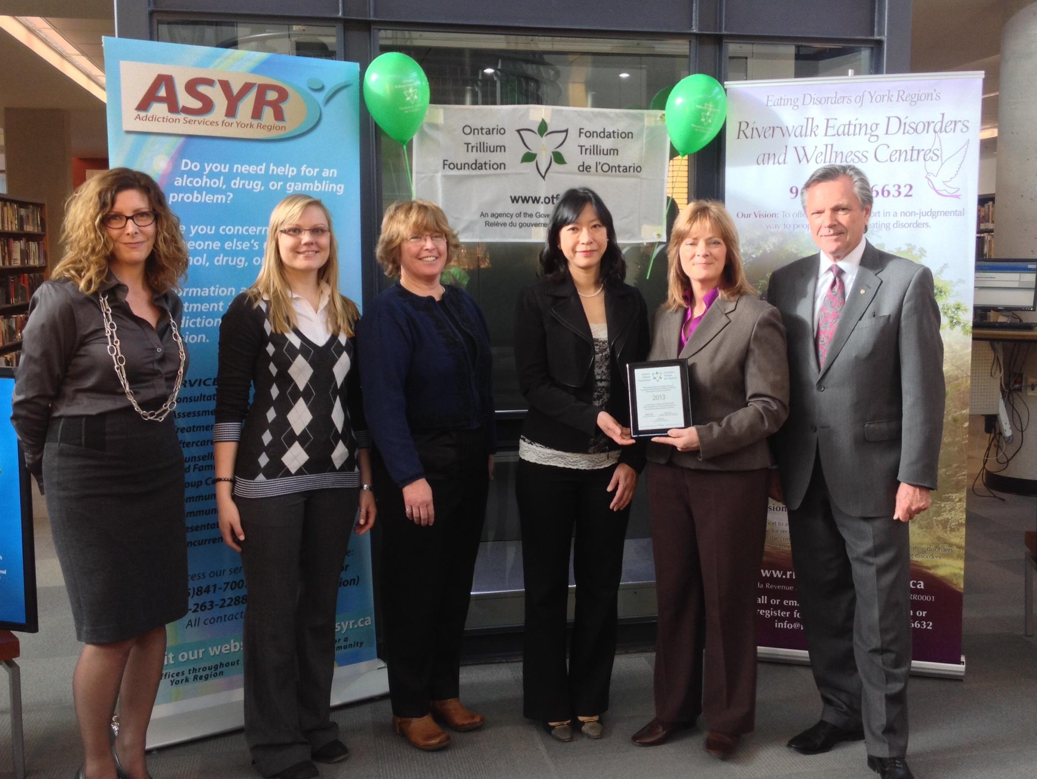 Ontario Trillium Foundation awards $240,100 grant