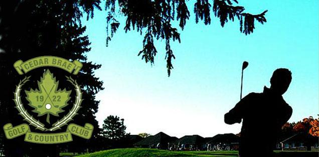 www.  cedarbraegolf  .com     Cedar Brae Golf and Country Club Foursome with Carts   $465 value