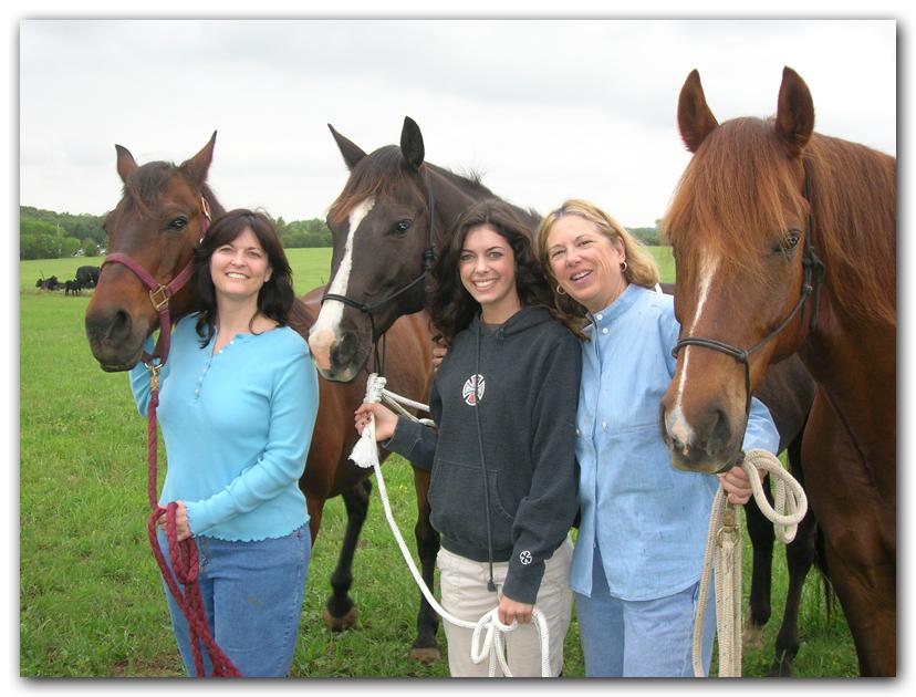woman horses equine photo artist