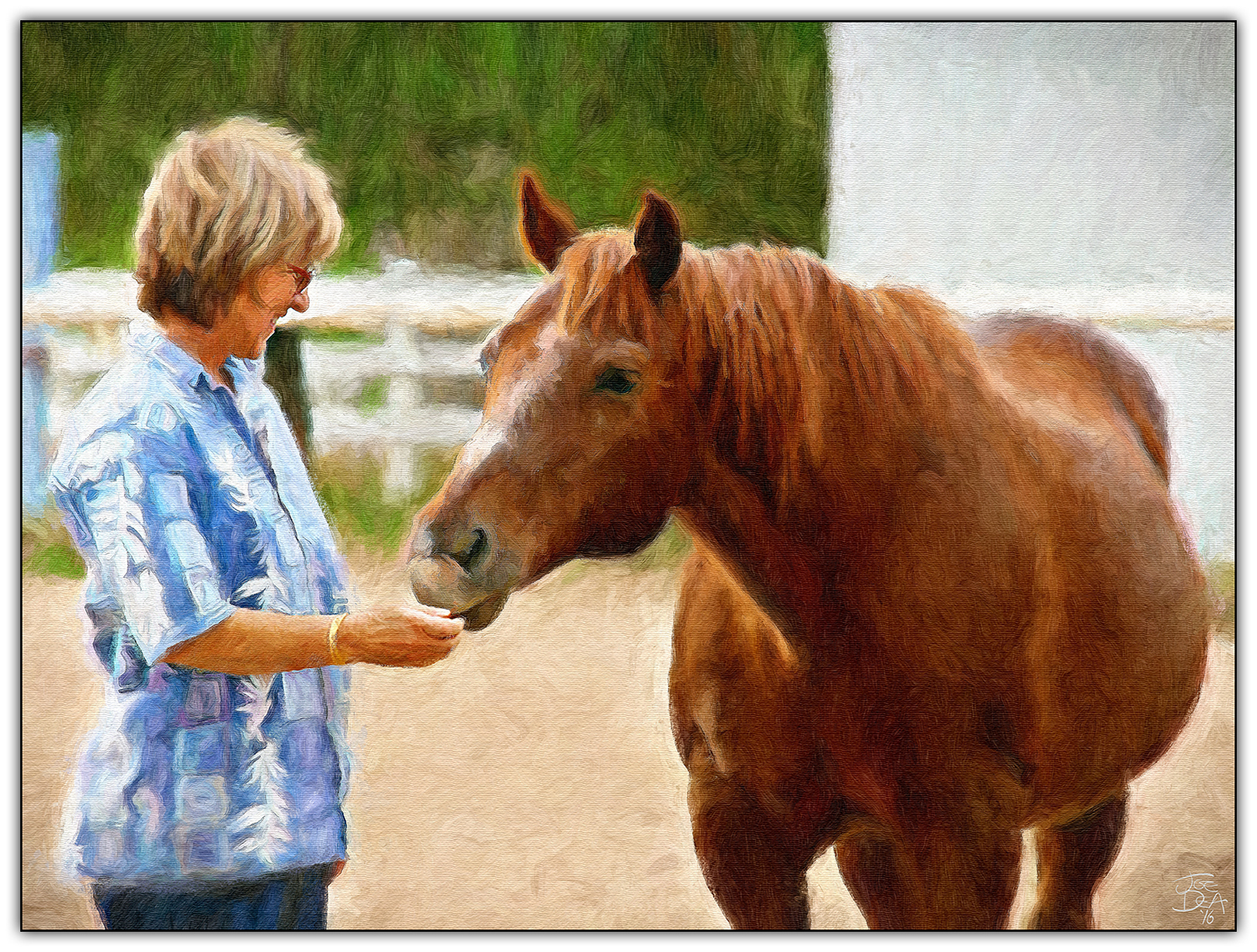 woman-horse-painting