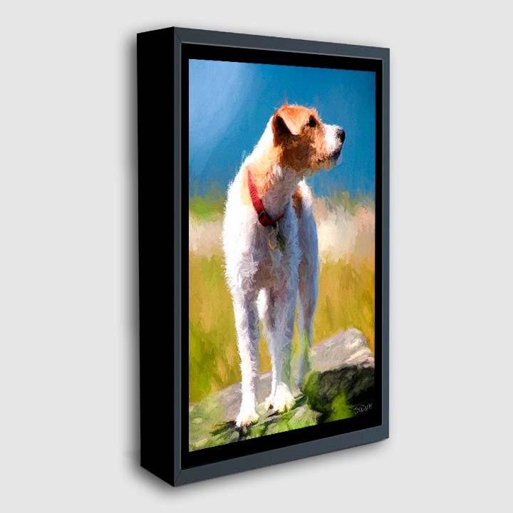 BlackFloaterFrame-dog-painting.jpg