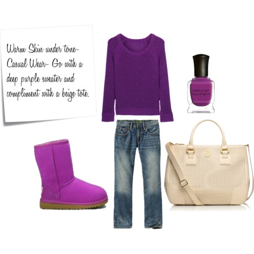 Radiant Orchid for Warm Skin Tones- 344pm.com