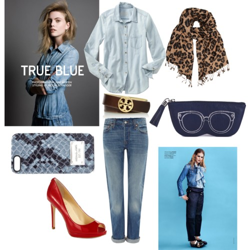 Denim Blue Trend- 344pm
