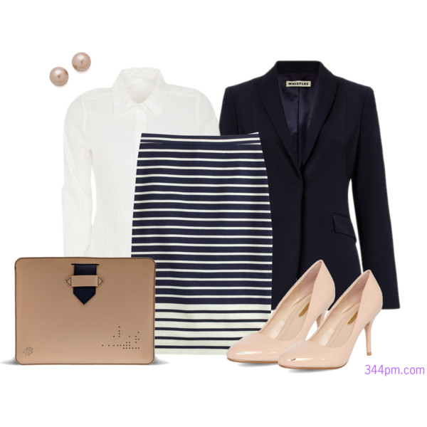 What to wear on an interview with a business casual dress code.