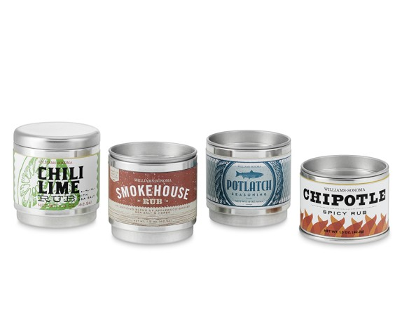 William Sonoma grilling rubs