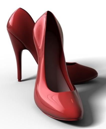 High Heels- Image via Clip Art