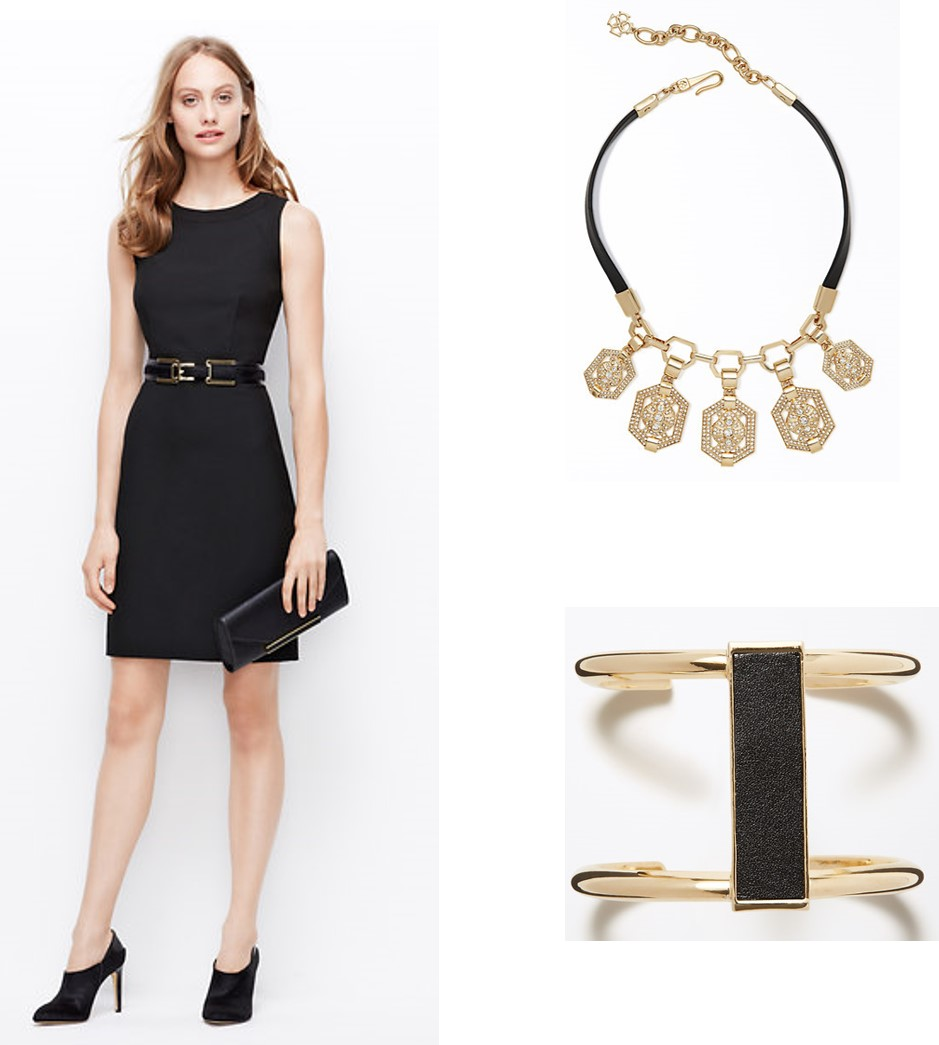 Outfit and Accessories from Ann Taylor.