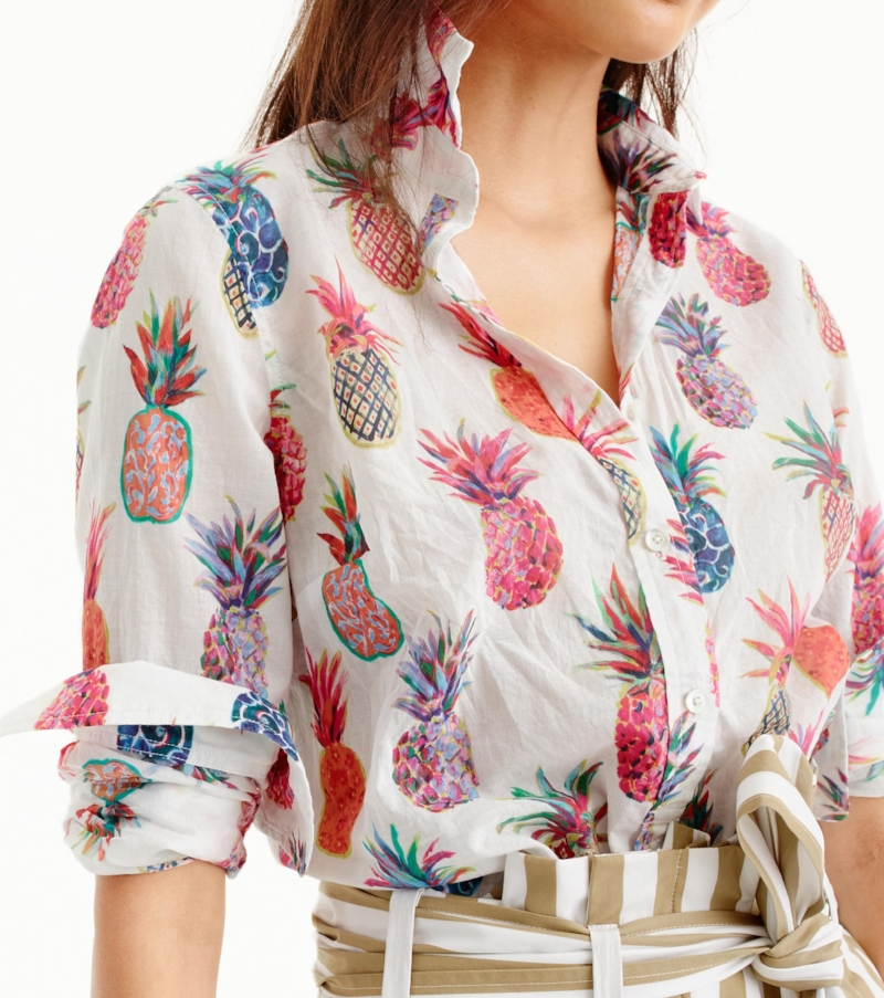 Pineapple Top from J.Crew
