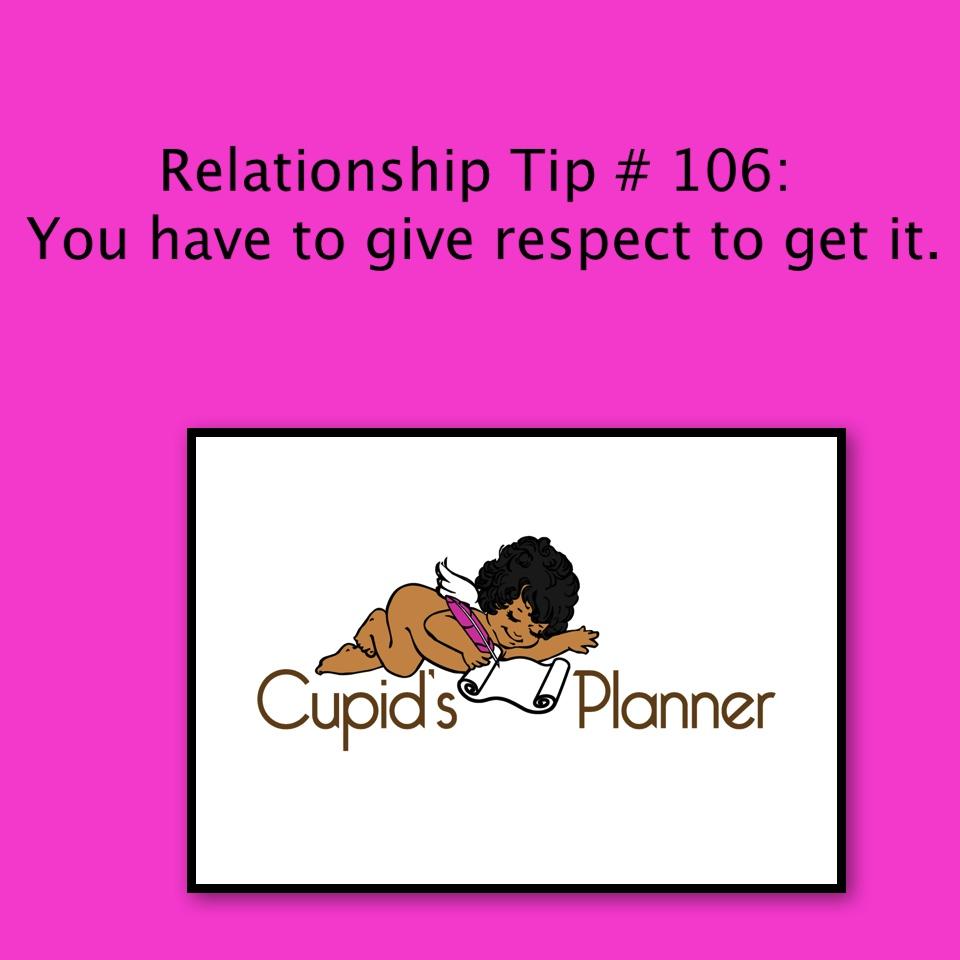 Relationship Tip # 106: