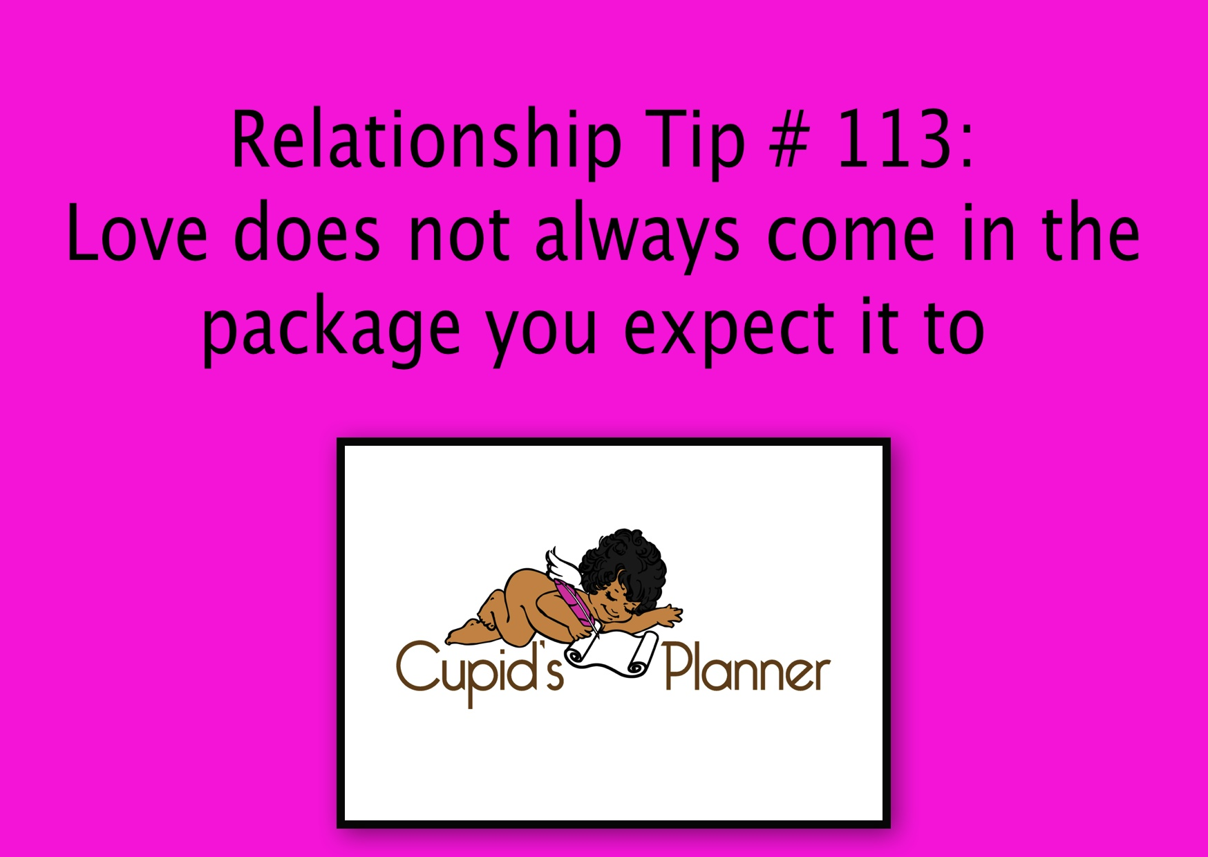 Relationship tip_real love