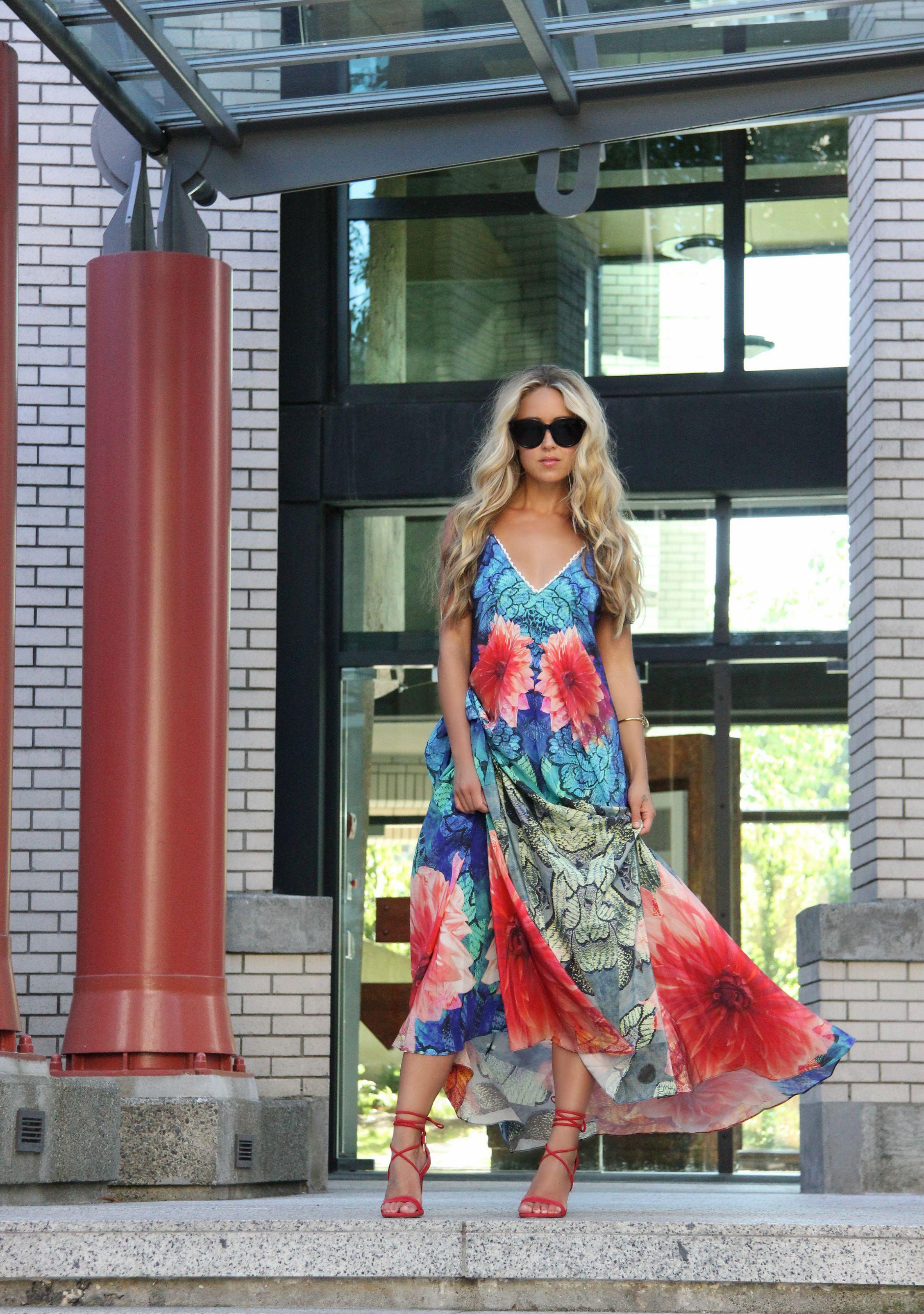 Wearing  Athena Procopiou  Dress and  WXYZ Bracelet via  Wardrobe Apparel