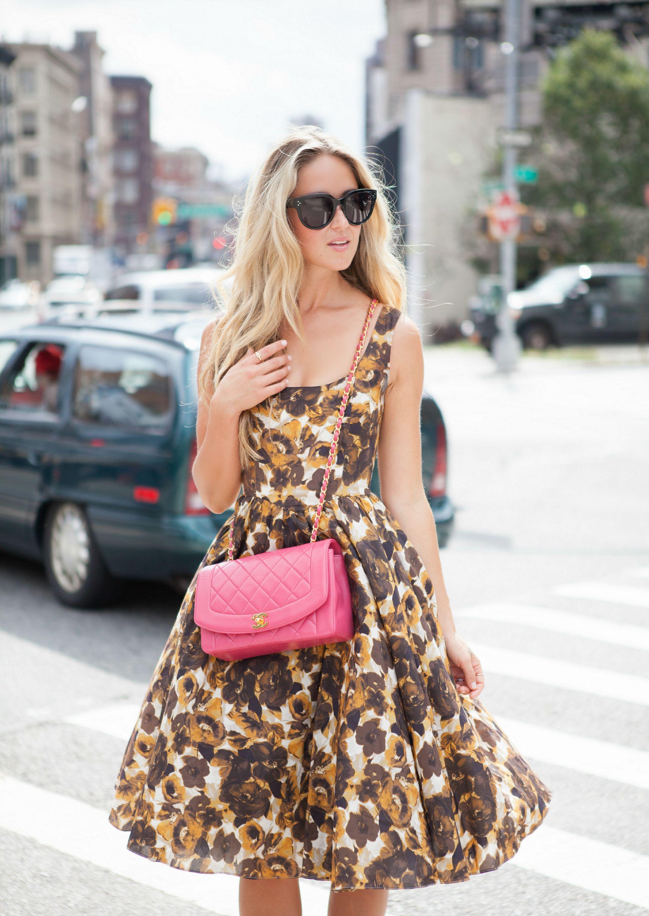 Photos by  Jamie Mann  ASOS Dress, Chanel Bag via  Bella Bag