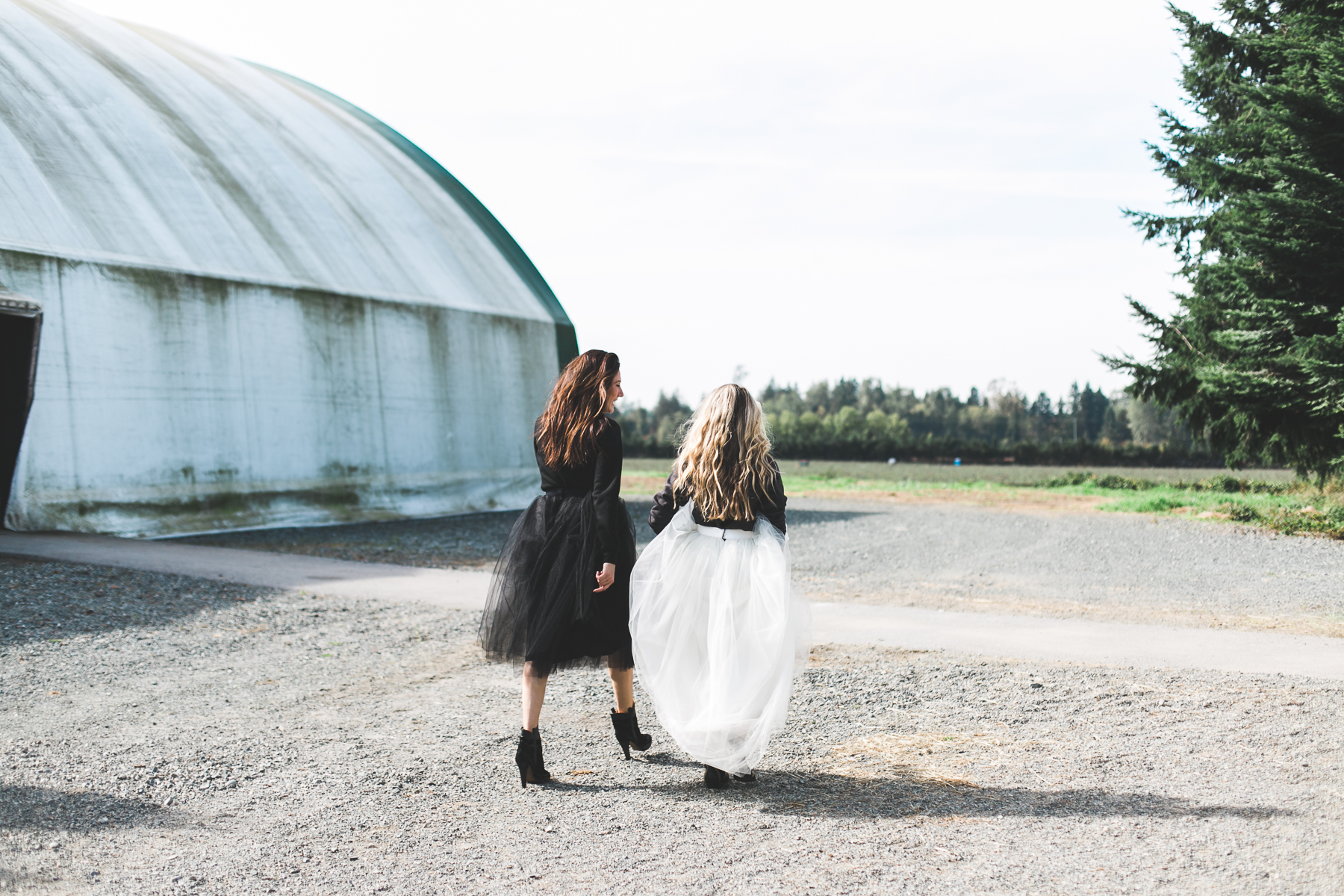 AFLA x  BITNB  BLONDE & BRUNETTE  Sweatshirts  Beautulleful Skirts  Anine Bing Boots (Cara)