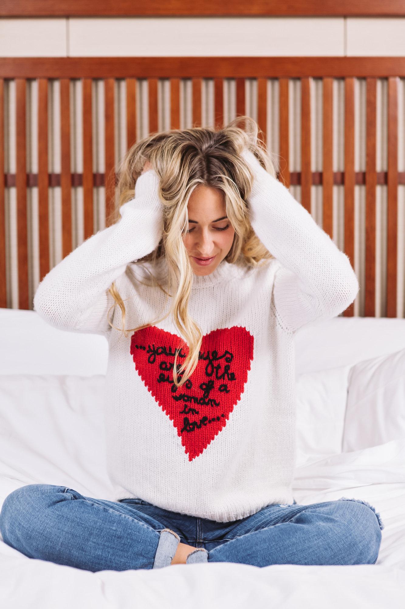 Tiffany & Co  Jewels, Pyjama's, Saint Laurent Dress, See by Chloe Dress, Valentino Sweater & Frame Denim all via  Nordstrom Vancouver  Photography:  Allison Kuhl  Location:  Shangri-La Vancouver