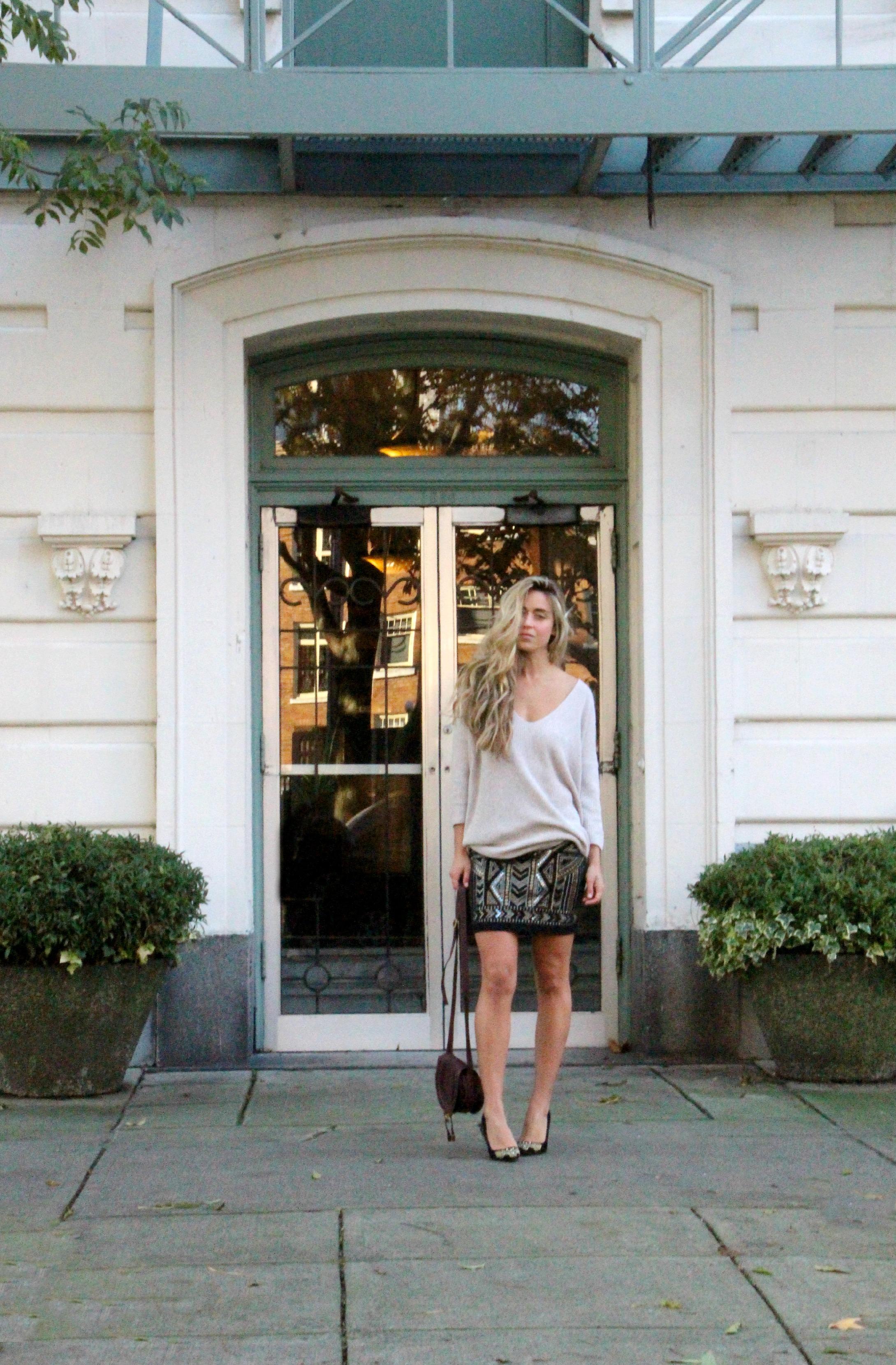 Express   Top  &  Skirt ,  Chloé  Bag,