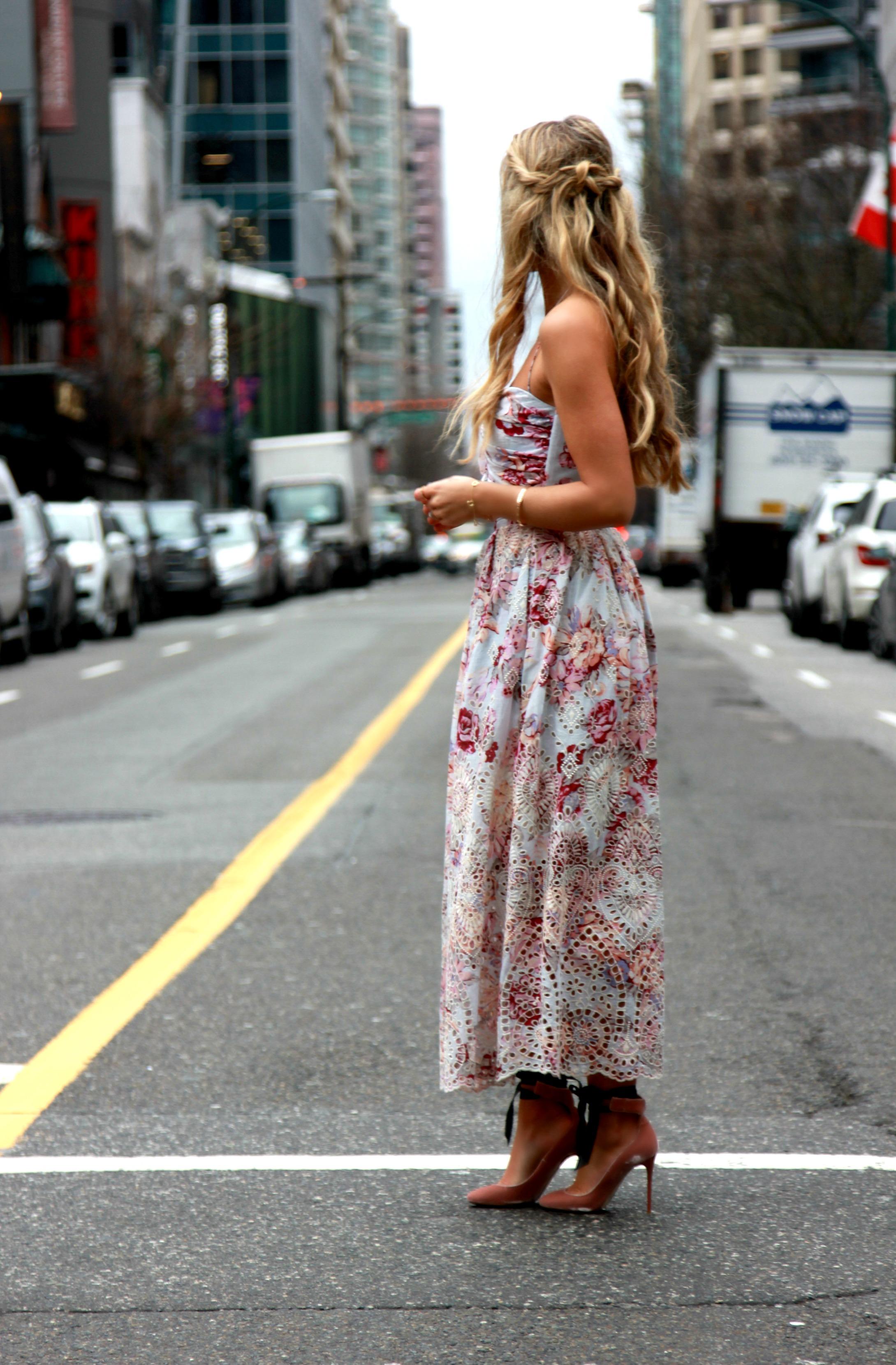 Zimmermann  Dress,  Jimmy Choo  Heels, Tiffany & Co Jewels