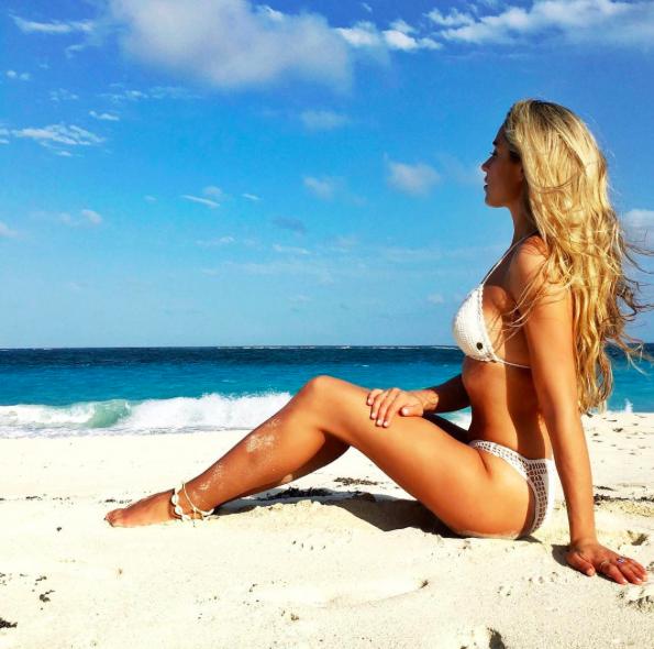 Jergens Natural Glow  ,  Zimmermann   Dress ,  Billabong  Top & Bikini Beach Shots at  The Crane Resort , Barbados