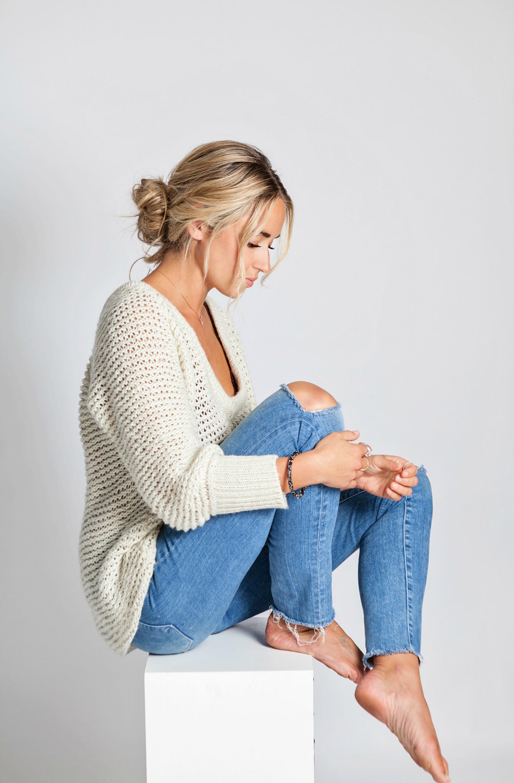 Photography by  Allison Kuhl  Swarovski  Bracelet ,  Necklace , Ring  1 , Ring  2