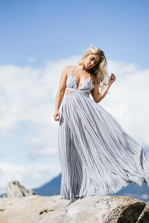 Photos by Allison Kuhl  Faithfull the Brand  Dress &  Lulus Dress  via  Lulus