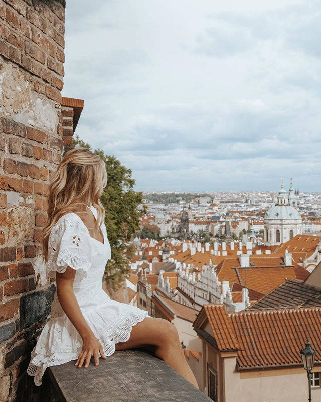 PRAGUE 💛 #CaraJourdanTravel photo by @paigeowenphoto