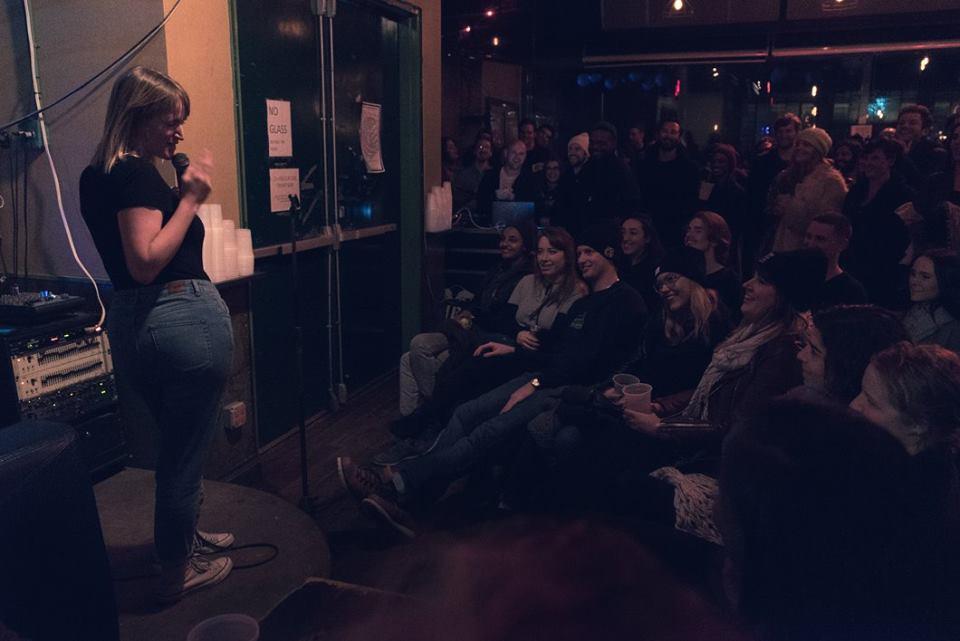 Comedy @ The Knit  Photo: Hunter Peress
