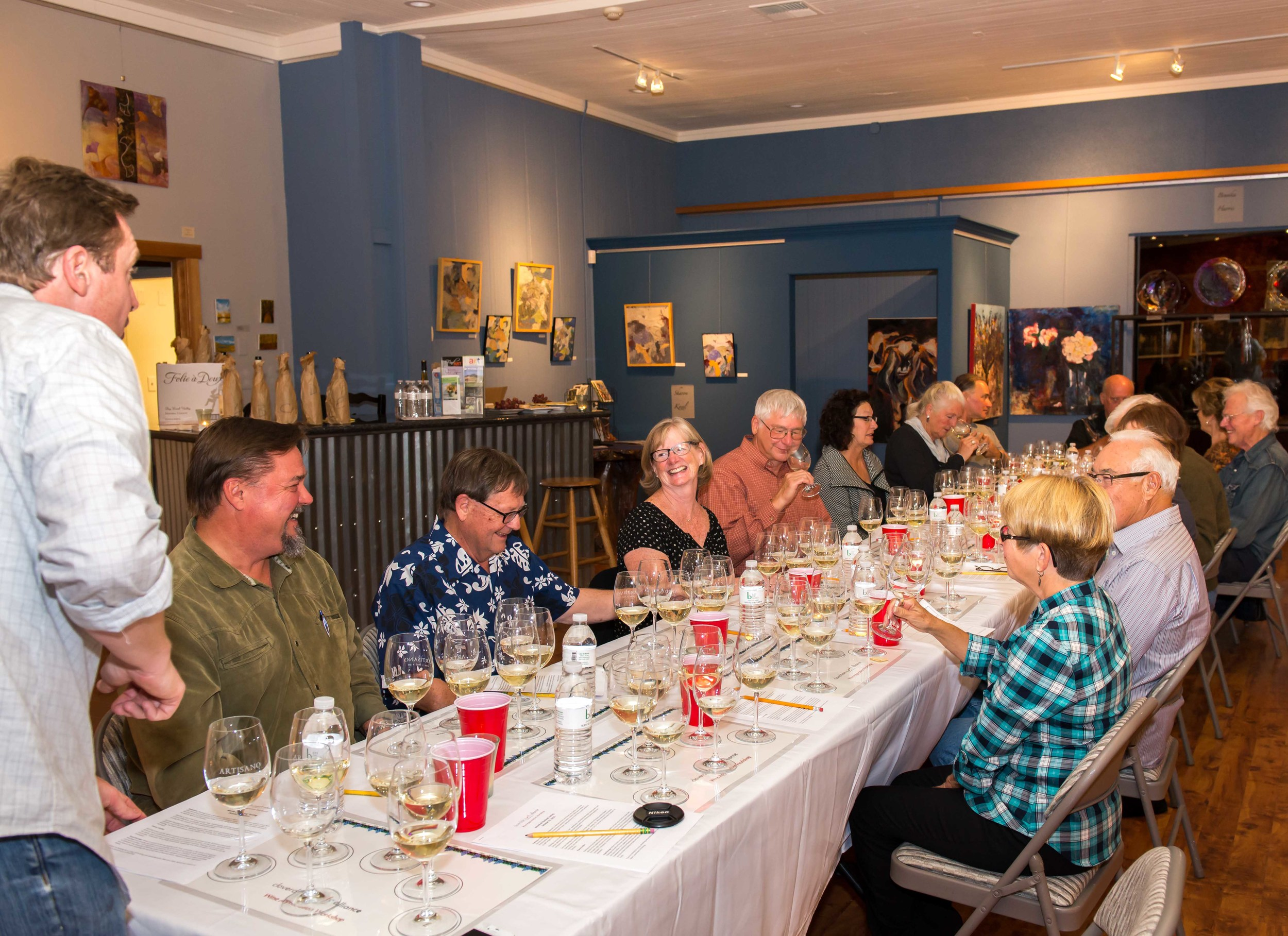 Wine Appreciation Workshop