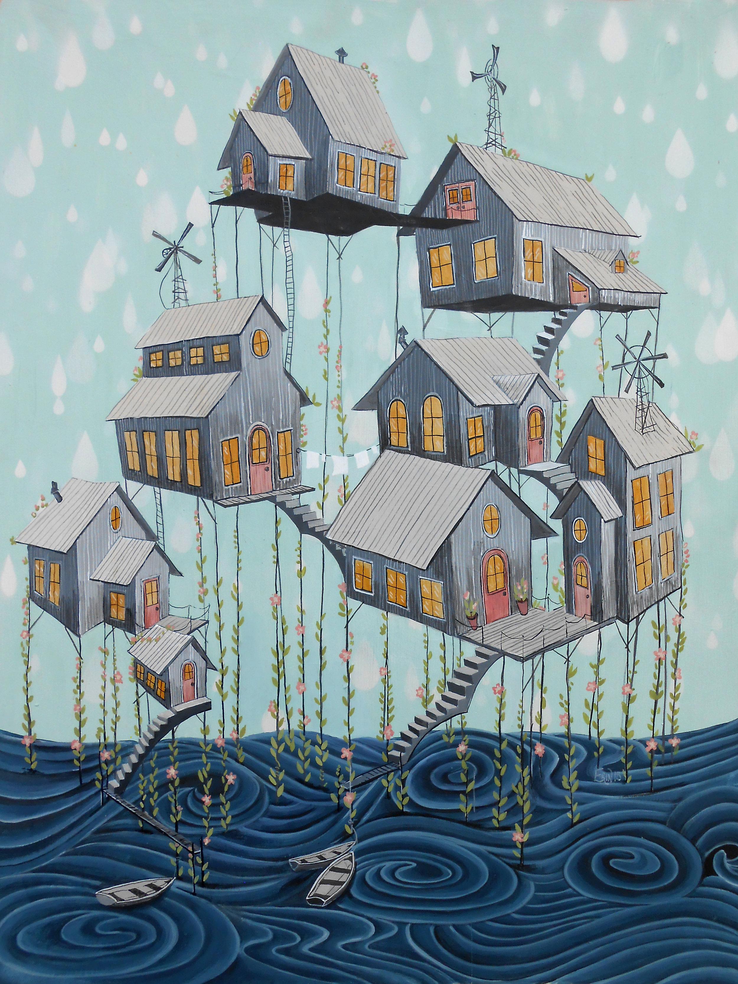 Stilt Houses #1