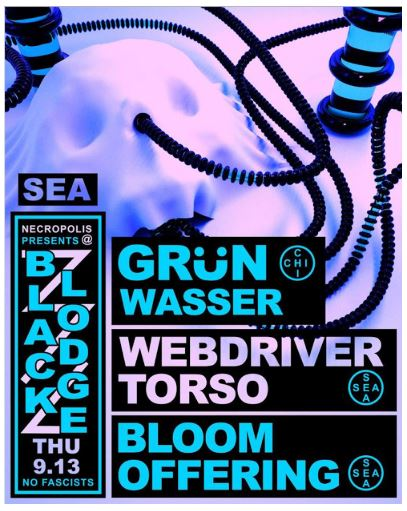 The Stranger - Grun Wasser - Webdriver Torso - Bloom Offering poster.JPG