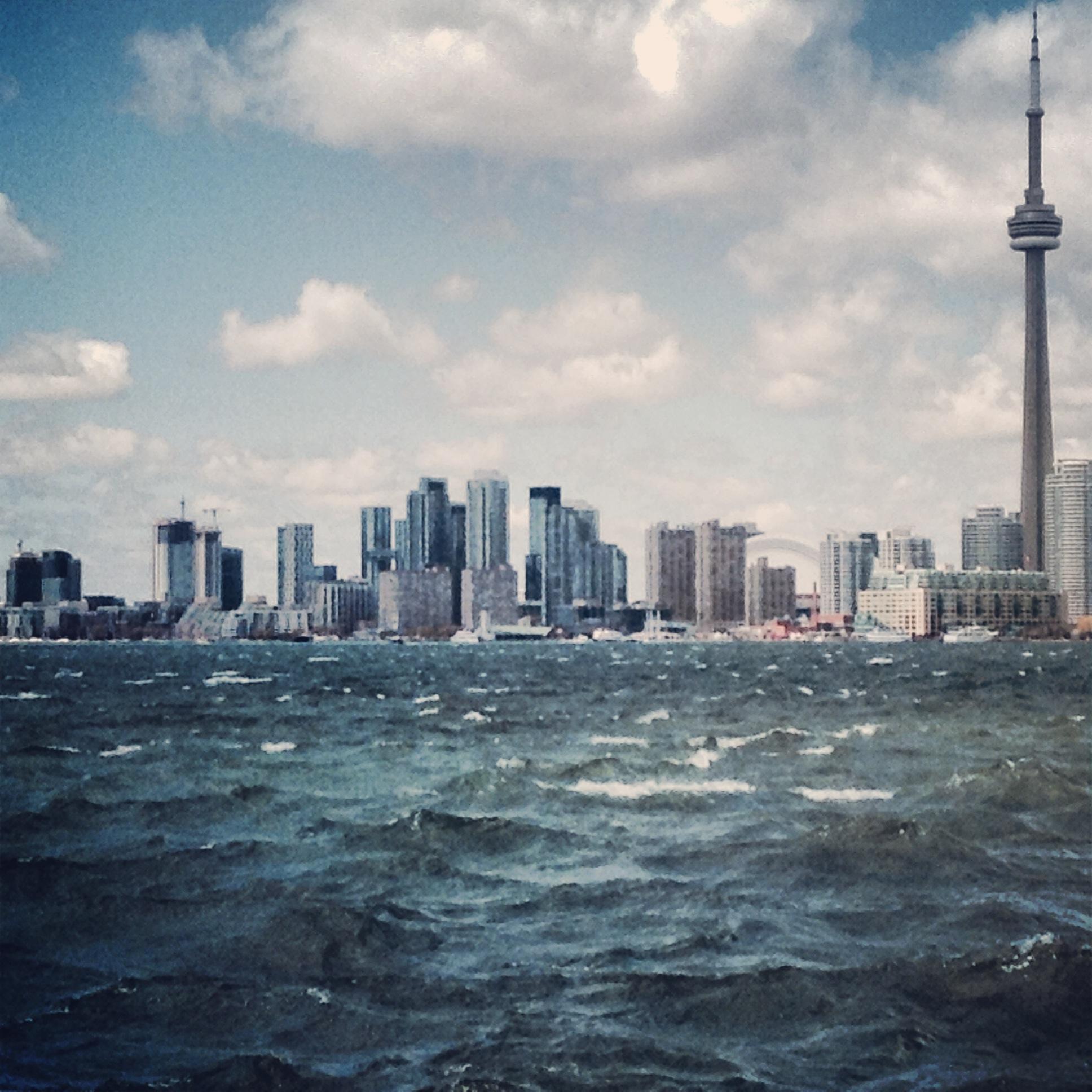 Toronto from Toronto Island.