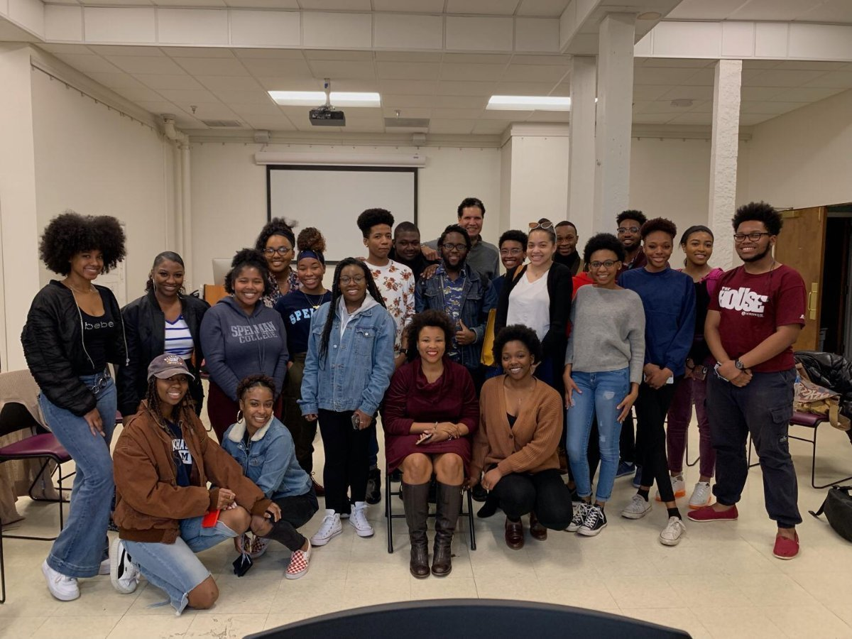 Guest Speaker at Spelman College - I visited Spelman and Morehouse students this past year across all arts disciplines to discuss opera and new works by contemporary creators of African decent.