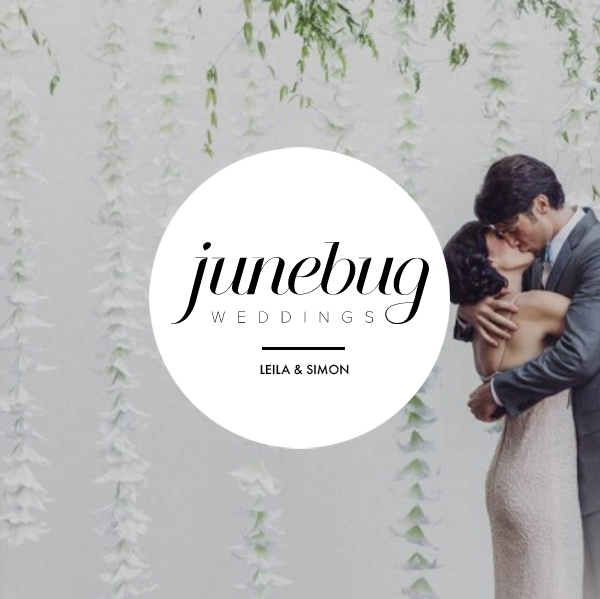 Leila & Simon on Junebug Weddings