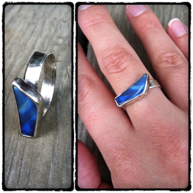 Boulder Opal Ring  : From work to play, this ring is a show-stopper!
