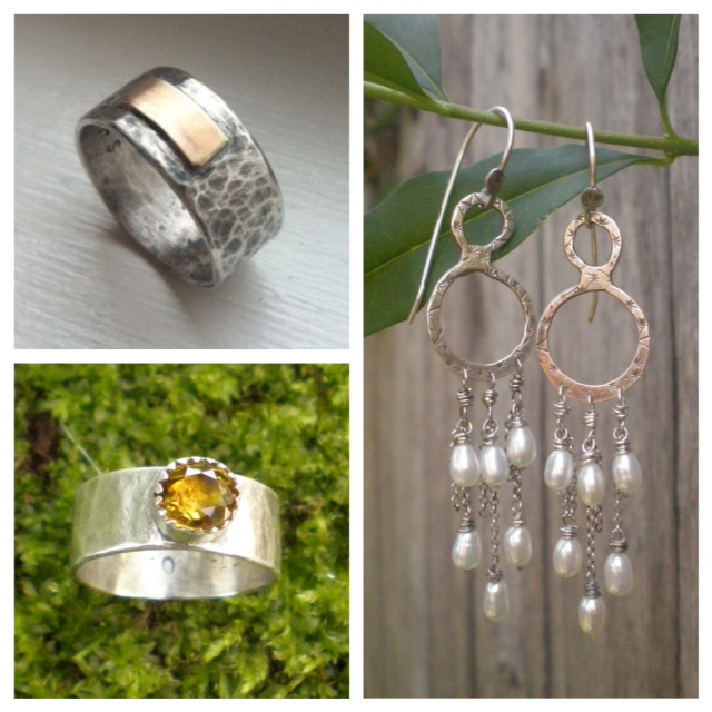 Some examples of custom wedding jewelry... so dreamy!!